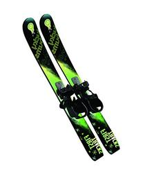 Lucky Bums Kids' Beginner Snow Skis without Poles, Pink/