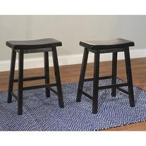 Target Marketing Systems Set of 2 24-Inch Belfast Wooden