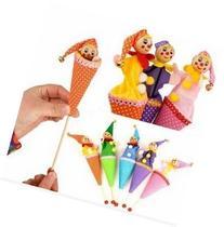 1pcs Bell Hide And Seek Kids Children Smiley Face Clown Play