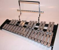 GP Percussion Bell Kit, Glockenspiel, Xylophone, Stand, Bag
