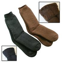 35° Below Socks - Brown, Large
