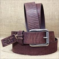 Justin Men's Bomber Belt Brown Belt 40
