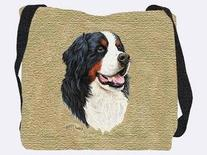 Bernese Mountain Dog Tote Bag - 17 x 17 Tote Bag