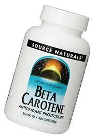 Source Naturals Beta Carotene 25,000IU, Antioxidant