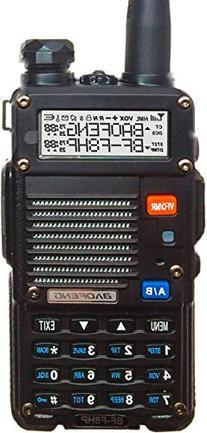 BaoFeng BF-F8HP  8-Watt Dual Band Two-Way Radio  Includes