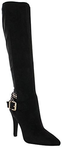 BCBGeneration Women's BG Eileen Slouch Boot, Black, 8 M US