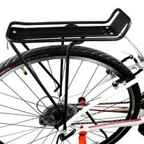"BV Bicycle Commuter Rear Carrier Rack  For 26"" and 28"""
