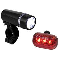 BV Bicycle Light Set Super Bright 5 LED Headlight, 3 LED