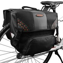 Ibera Bicycle Side-Mounting Pannier Set, Bike Panniers with