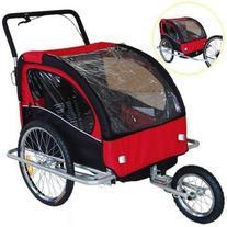 Veelar Children Bicycle Trailer Jogging Stroller Combo 2 in