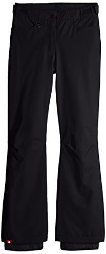 Roxy Big Girls' Backyard Snow Pant, Anthracite, 12/Large