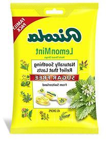 Ricola Big Bag Sugar Free Lemon Mint Cough Drops, 45-Count