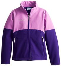 Columbia Big Girls'  Brookview Softshell Jacket, Hyper