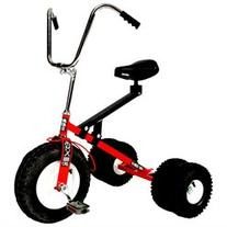 Dirt King Big Kids Dually Tricycle - Red