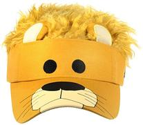 Concept One Accessories Big Boys' Flair Hair Visor Lion Face