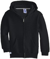 Russell Athletic Big Boys' Fleece Full Zip with Hood