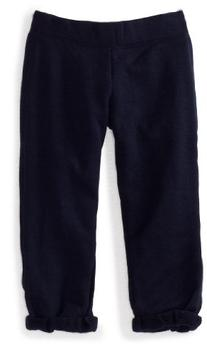 Soffe Big Girls' Football Capri Pant, Navy, X-Large