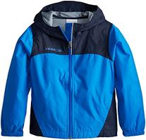 Columbia Big Boys' Glennaker Rain Jacket, Hyper Blue, Medium