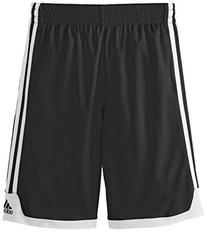 adidas Big Boys' Key Item Short, Black, Medium/10-12