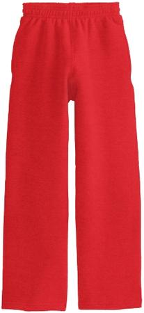 Soffe Big Boys' Open Bottom Heavy Weight Pocket Sweatpant,