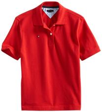 Tommy Hilfiger Big Boys' Short Sleeve Ivy Polo Shirt,Regal