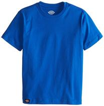 Dickies Big Boys' Short Sleeve Performance Tee, Royal Blue,