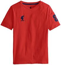 U.S. Polo Assn. Big Boys' Sleeve Pocket T-Shirt