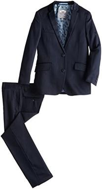 Appaman Big Boys' Two Piece Classic Mod Suit In Navy, Navy