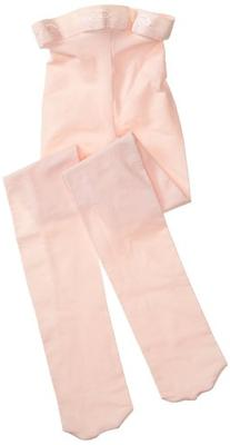 Capezio Big Girls' Ultra Soft Footed Tight, Ballet Pink, One