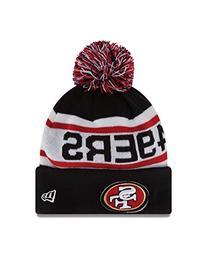 Men's New Era Cap 'Biggest Fan Redux - 49ers' Beanie Red One
