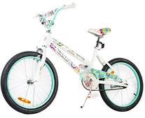 Tauki 20 Inch Girl Bike Kid Bike for Girls, Green, for 8-14