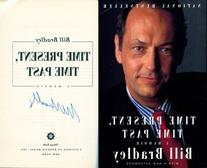 Bill Bradley Autographed Time Present Time Past Book