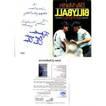 Billy Martin Autographed / Signed Billyball Book