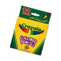 BIN684208 - Crayola Multicultural Colored Woodcase Pencils