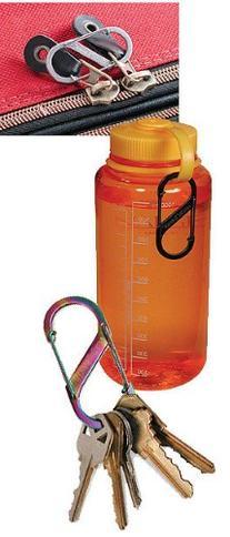 Nite Ize S-Biner Plastic Size #4 - Red