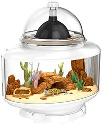 Bio Bubble Reptile Terrarium Silver
