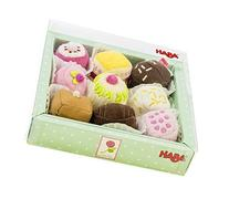 HABA Biofino Soft Petit Fours Set of 9 Plush Desserts -
