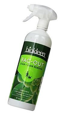 Biokleen Bac-Out Stain+Odor Remover Foam Spray, 32 Ounces