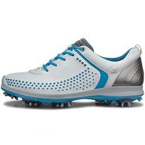ECCO Women's Biom G2 Golf Shoe,White/Danube,38 EU/7-7.5 M US