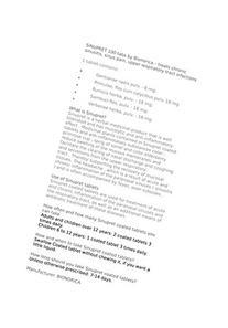 Bionorica Sinupret Herbal Supplement, 100 Count