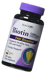 Natrol Biotin 5000mcg Extra Strength 250 Ct