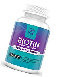 Biotin With 5000 MCG - Extra Strength Vitamin B-Complex