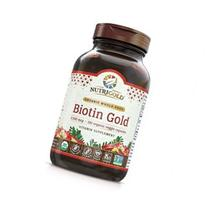 NutriGold Biotin Gold  - Hair, Skin and Nails Support - 2,