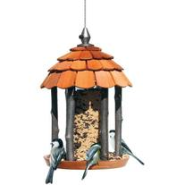 Perky-Pet Wood Gazebo Feeder 50129, 2 lb capacity