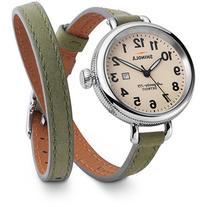 Shinola Birdy Leather Double-Wrap Watch