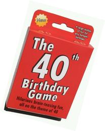 The 40th Birthday Game. Fun new gift or party idea specially