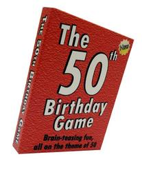 The 50th Birthday Game. Fun 50th birthday party idea, also a