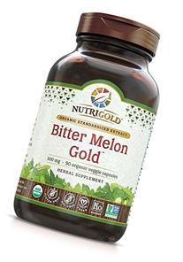 Nutrigold Bitter Melon Gold, 500 mg, 90 veg. capsules