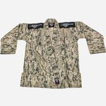 KO Sports Gear BJJ Gi - Green Camo - Summer Rip Stop - For