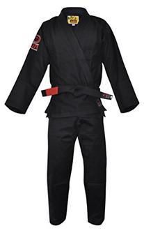 Fuji BJJ Uniform, Black, A2
